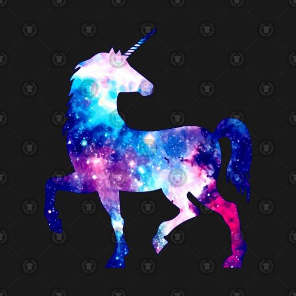 Rainbow Galaxy Unicorn Cool