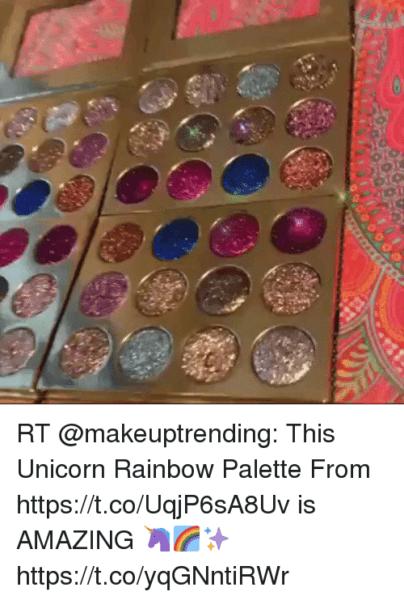 Rainbow Unicorn Palette