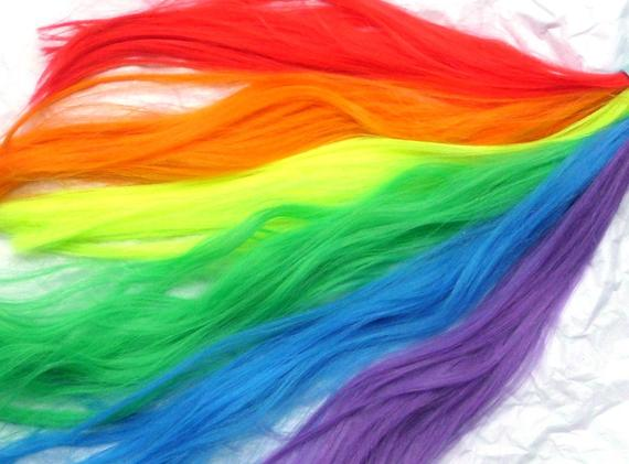 Rainbow Unicorn Tail Costume Unicorn Horse My Little Pony Tail