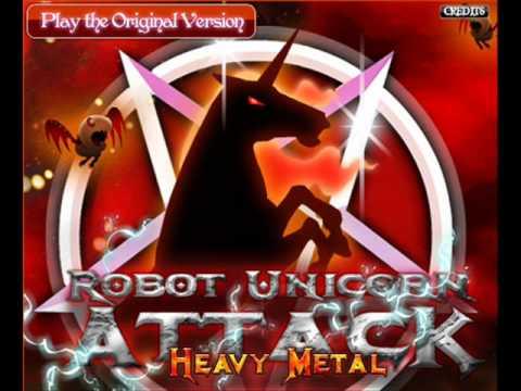 Robot Unicorn Attack [heavy Metal!]