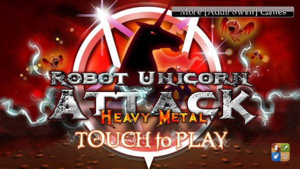 Robot Unicorn Attack Heavy Metal Edition On The App Store