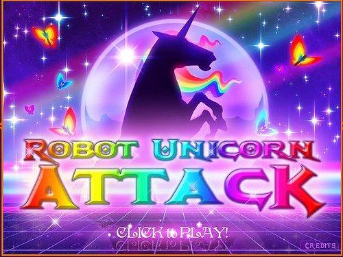 Robot Unicorn Attack (video Game)