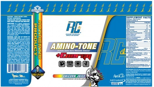 Ronnie Coleman Signature Series Amino Tone + Energy Reviews