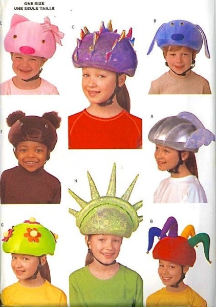 Safety Helmet Cover Sewing Pattern