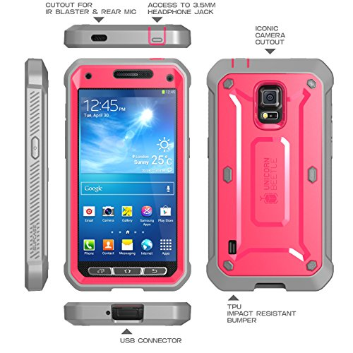 Samsung Galaxy S5 Active Supcase Unicorn Beetle Pro Series Hybrid