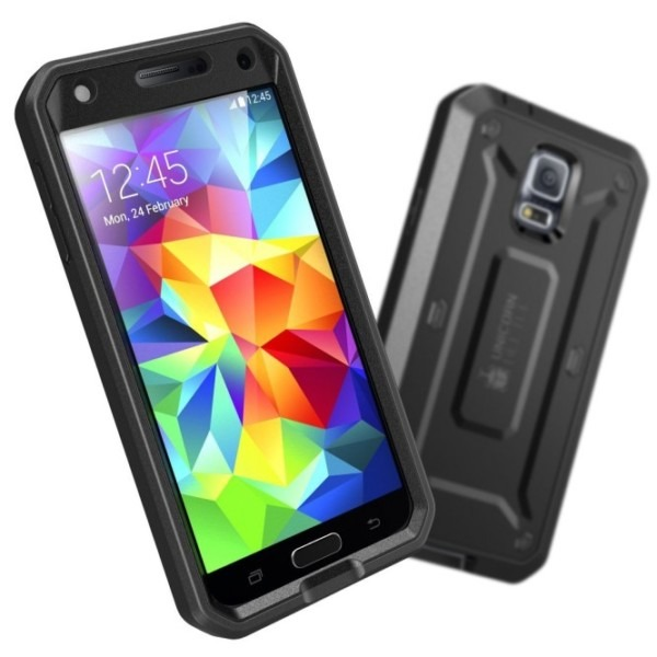 Samsung Galaxy S5 Unicorn Beetle Pro Full Body Rugged Case With