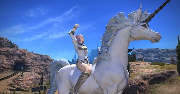 Sayuri On Twitter   I Had Not Planned On Liking The Unicorn Mount