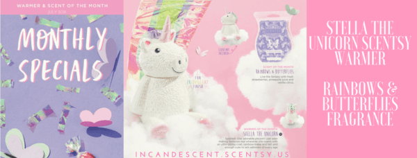 Scentsy July 2018 Warmer & Scent Of The Month