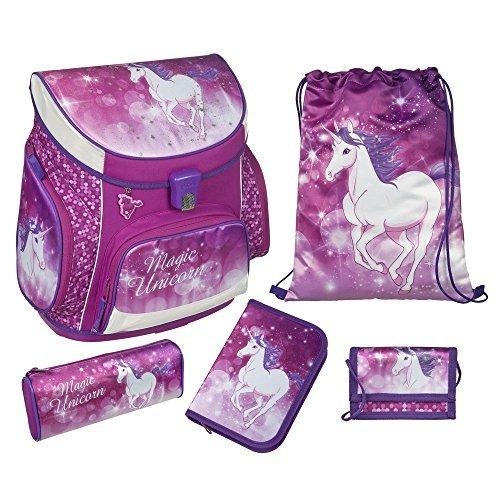 Scooli Campus Up Magic Unicorn School Bags Set 5