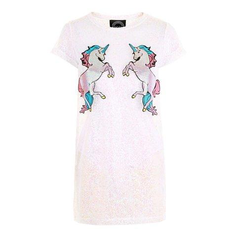 Sold To @trhxo 😘 Kuccia Unicorn Sequin Dress 🦄 Fab 🦄