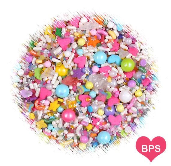 Sprinklefetti Unicorn Sprinkles Mix, Edible Sprinkles, Heart
