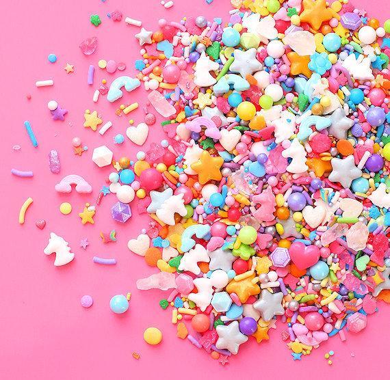 Sprinklefetti Unicorn Sprinkles Mix Edible Sprinkles Heart