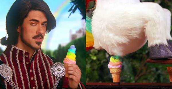 Squatty Potty Ad Features A Unicorn Sh Tting Rainbows