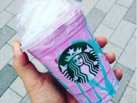 Starbucks Unicorn Frappuccino Review
