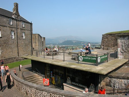 Stirling Castle Cafe & Shops Feature Page On Undiscovered Scotland