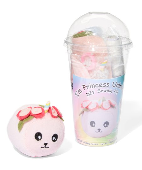 Sugar Plush Princess Unicorn Sewing Kit