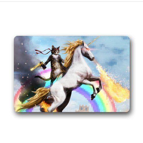 Sweetshow Custom Cat Unicorn Rainbow Gun Deagle Indooroutdoor
