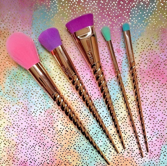 Tarte's Unicorn Makeup Brushes Are Now On Sephora