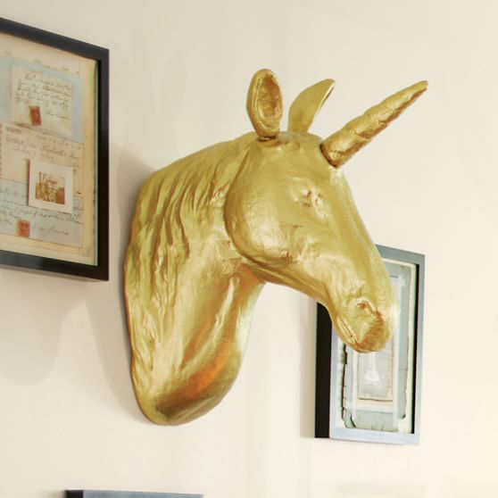 The Emily & Meritt Unicorn Wall Mount