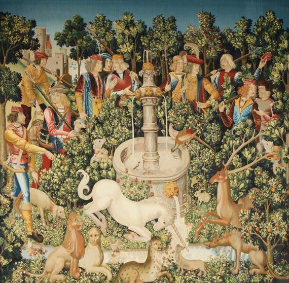 The Hunt Of The Unicorn Cross Stitch Pattern Pdf Format
