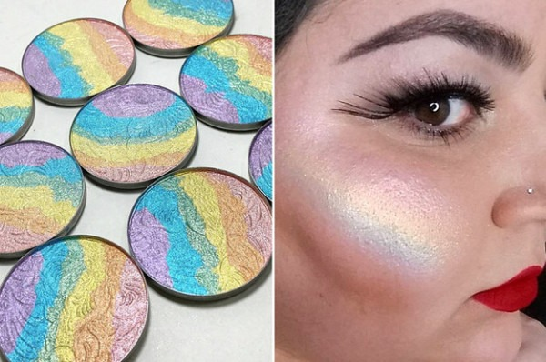 This Rainbow Highlighter Will Transform Us Mere Humans Into Unicorns