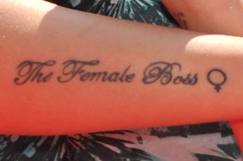 Tulisa Contostavlos 5 Tattoos & Meanings
