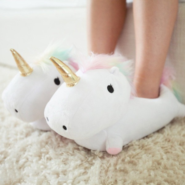 Unicorn Bedroom Slippers That Light Up When You Walk