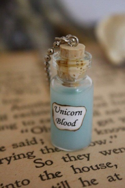 Unicorn Blood Necklace  Must Remember Thins For Meghan's Birthday