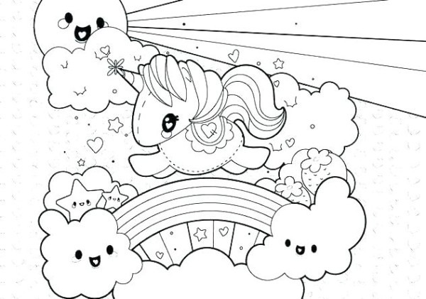 Unicorn Coloring Sheet Colouring Pages To Print Unicorns Coloring