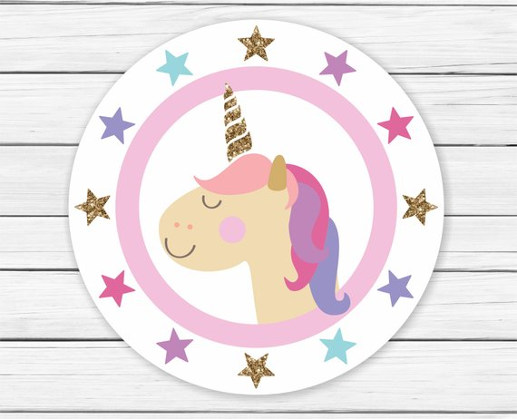 Unicorn Cupcake Toppers Printable Unicorn Cupcake Toppers