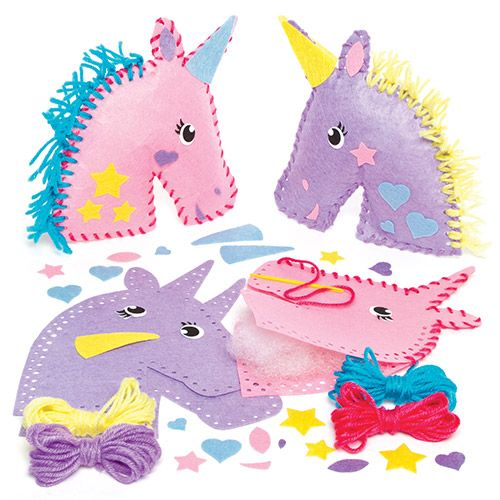 Unicorn Cushion Sewing Kits