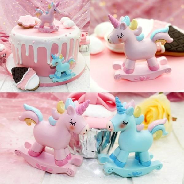 Unicorn Decoration Statue Unicorn Cake Decoration Ornaments