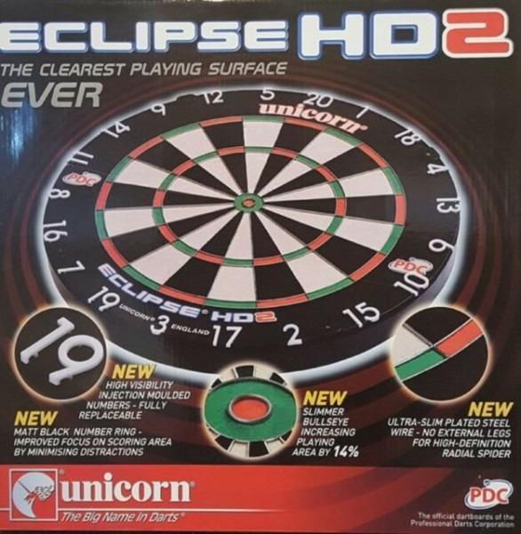 Unicorn Eclipse Hd 2 Tv Edition Bristle Board Pdc Endorsed