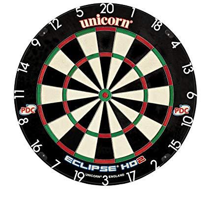 Unicorn Eclipse Hd 2 Tv Edition Bristle Dartboard, Dartboards