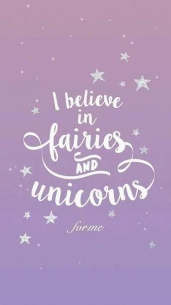 Unicorn Fairy Fairytale Fairydust Dream Quote Magic, Glitter
