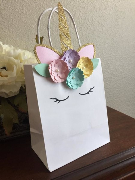Unicorn Favor Bags  Unicorn Gift Bags  Unicorn Goodie Bags