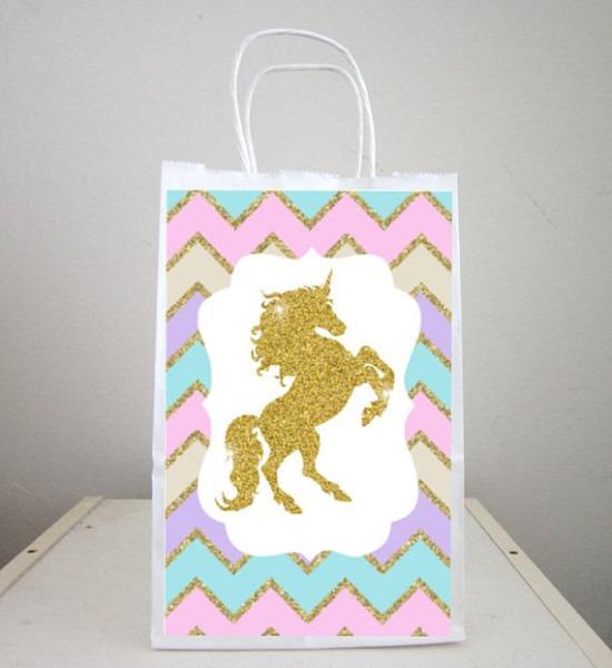 Unicorn Goody Bags, Unicorn Party Bags, Unicorn Favor Bags