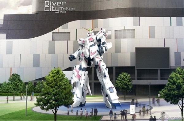 Unicorn Gundam To Replace Gundam Statue At Odaiba