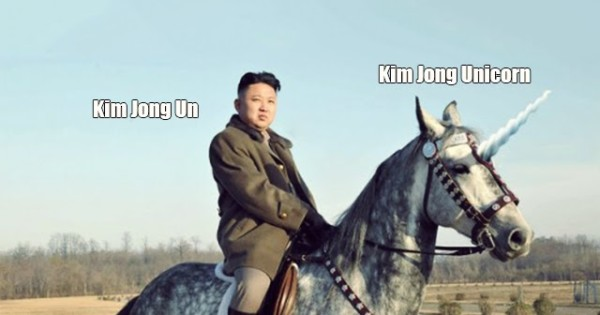Unicorn Lair Discovered  Says Kim Jong Un