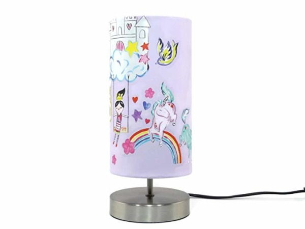 Unicorn Lamp Light Lampshade Bedside Table Desk Lamp Lamps Night