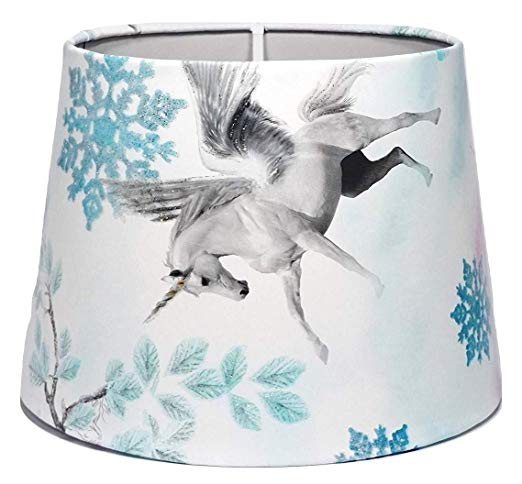 Unicorn Lampshade Or Ceiling Light Shade Glitter Princess Castle