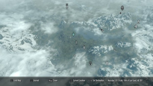 Unicorn Location At Skyrim Nexus
