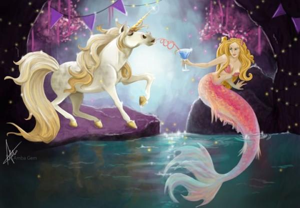 Unicorn Mermaid Party!