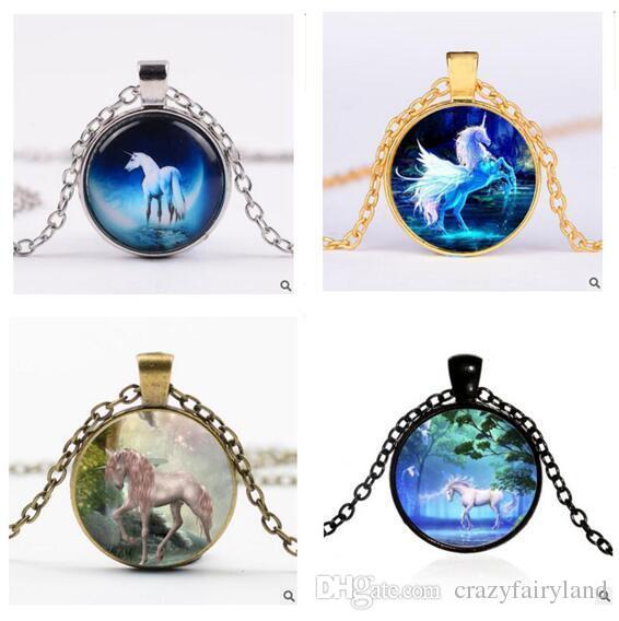 Cheap Unicorn Necklace