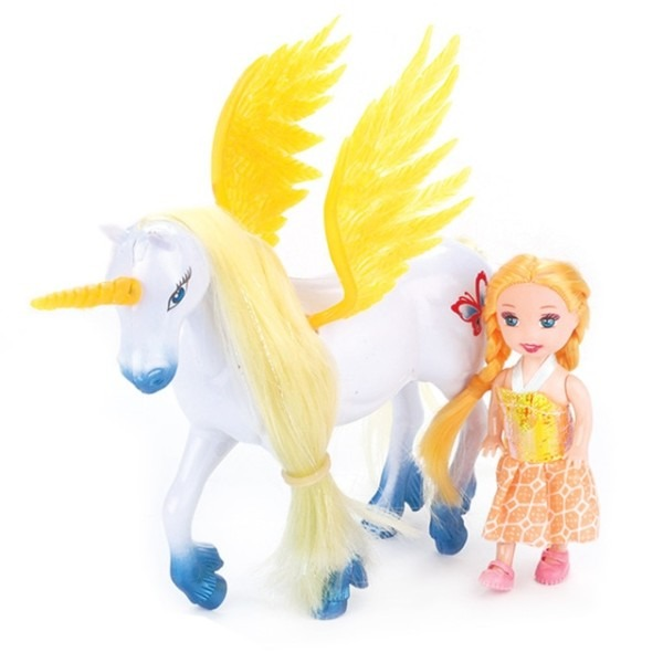 Unicorn New Hot Sale Toddler Dolls And Horse Toys Children