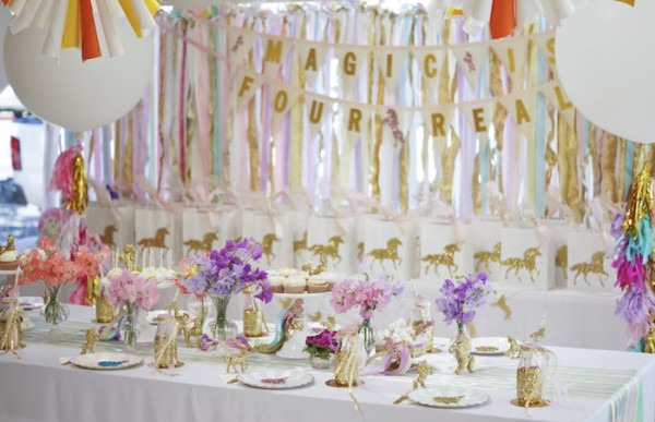 Unicorn Party Decoration Ideas