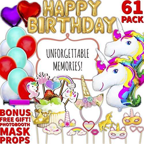 Unicorn Party Supplies 90  Off Amazon Discount