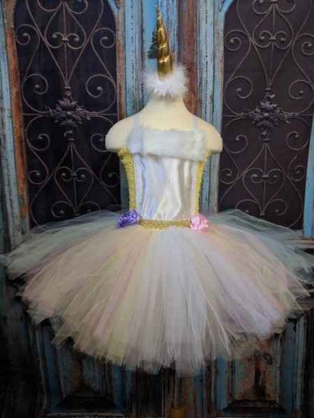 Unicorn Princess Costume Dress Unicorn Birthday Dress