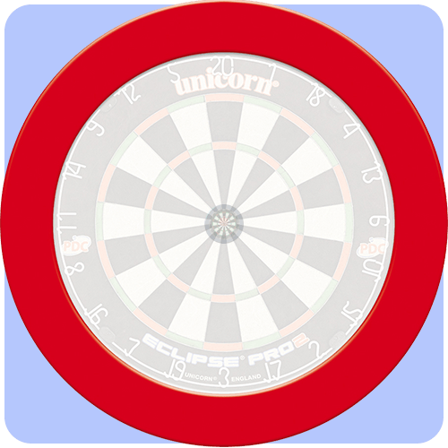 Unicorn Pro Slimine Dartboard Surround Darts Corner