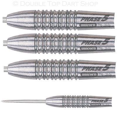 Unicorn Purist Phase 5 Natural 95  Tungsten Steel Tip Darts
